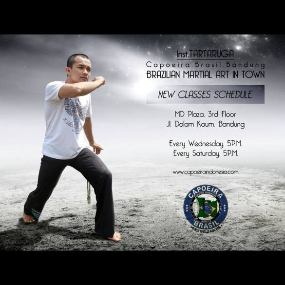 kelas capoeira bandung
